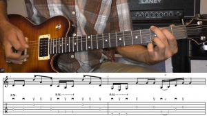 Learn classic rock guitar riffs songs tutorial course