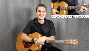 Beginner blues guitar henry olsen guitar lesson lessons
