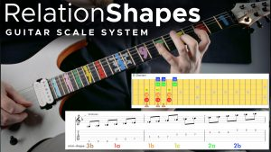 Relationshapes Trey Xavier guitar course scales lessons