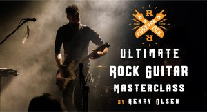 Ultimate Beginner Rock Guitar Masterclass Henry Olsen Riffs Songs Theory