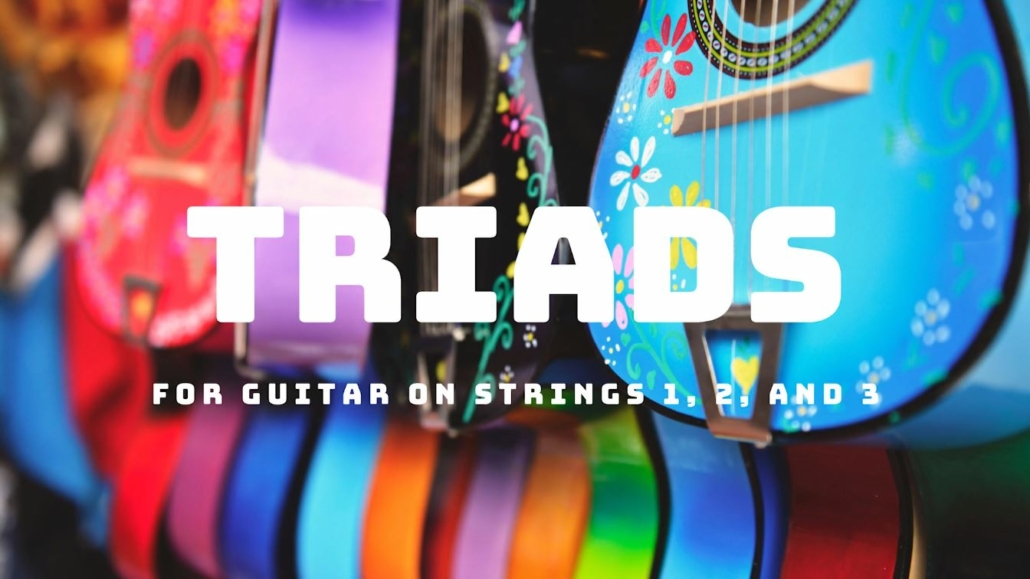 Triads for guitar Fret Zealot