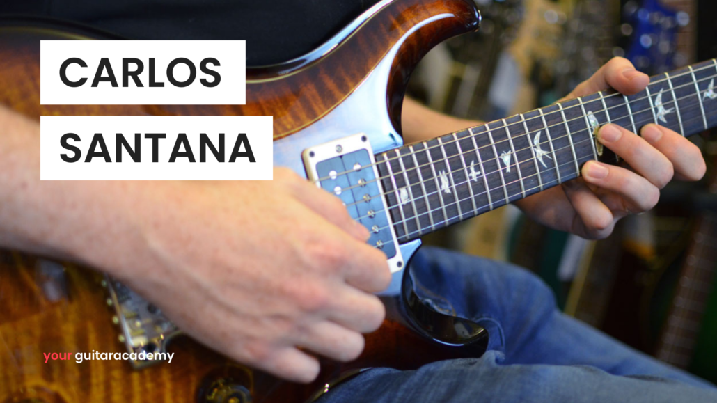 Carlos Santana Player Study Fret Zealot