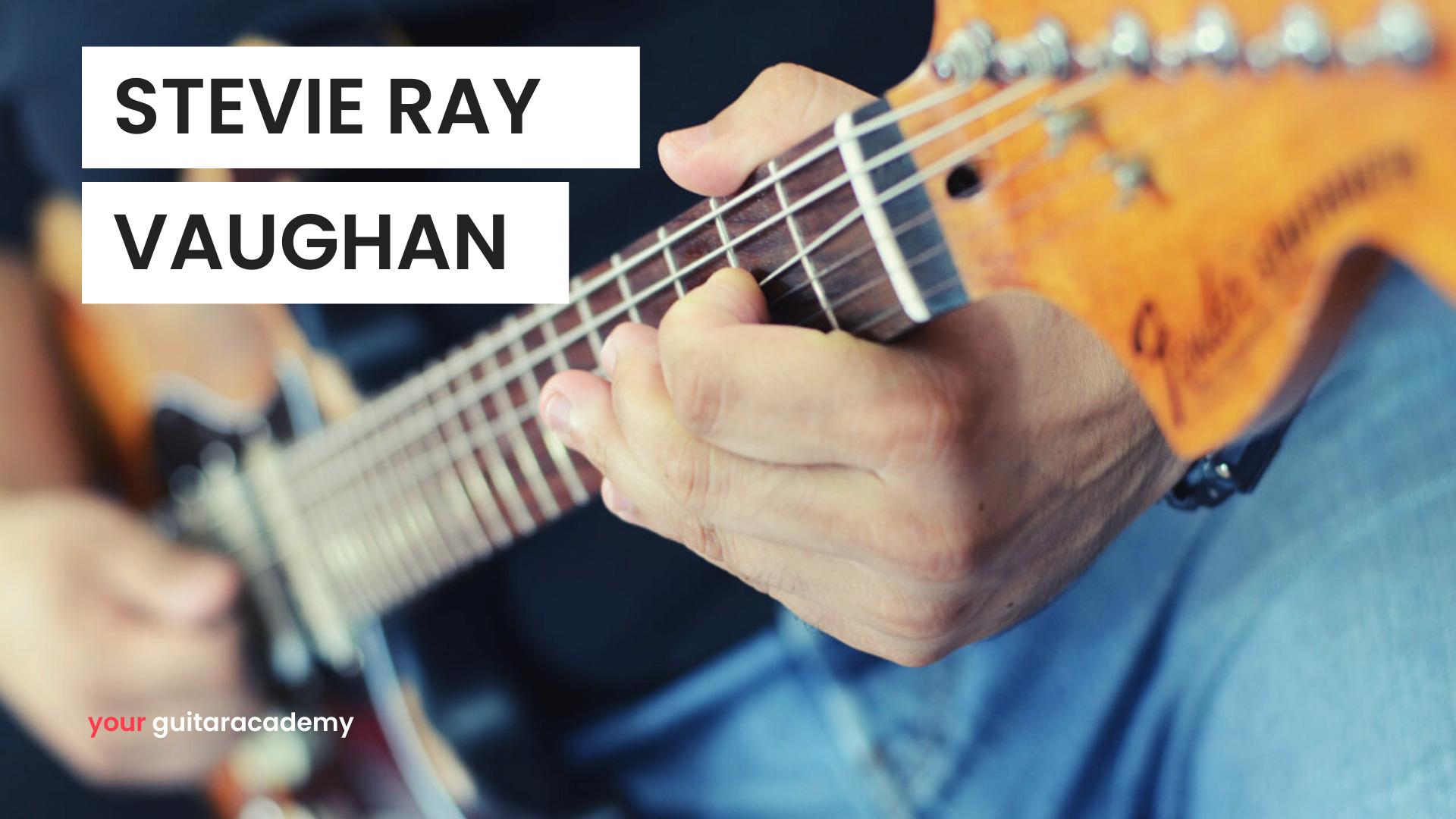 Stevie Ray Vaughan Player Study Fret Zealot